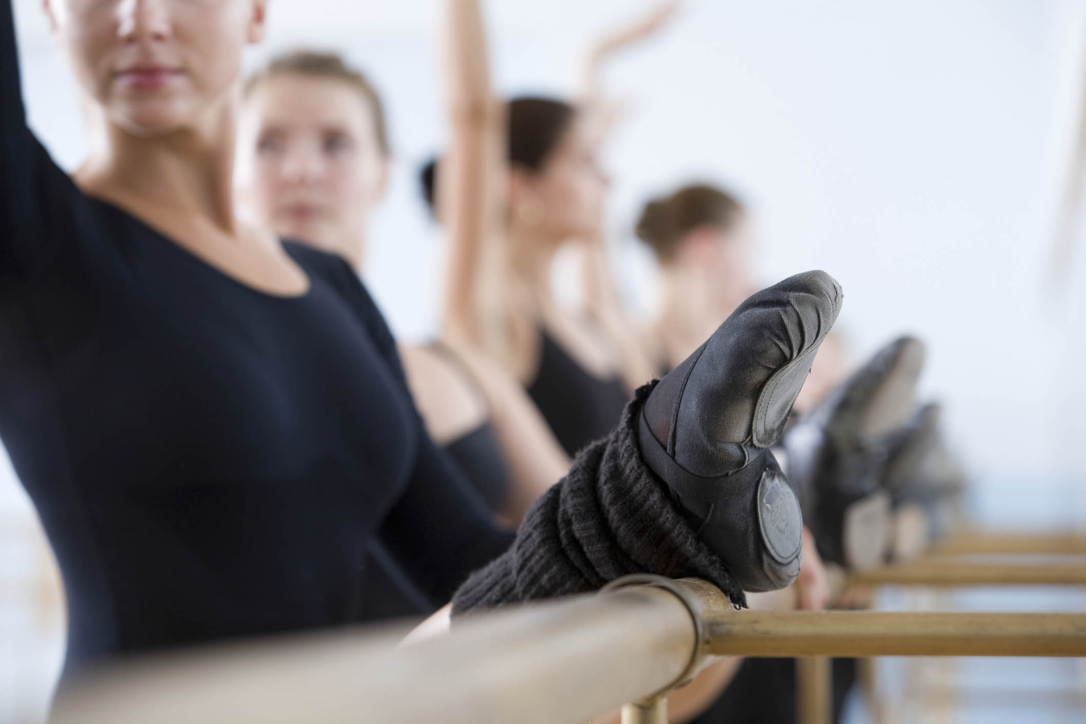 You can study ballet with limited flexibility and get more fit