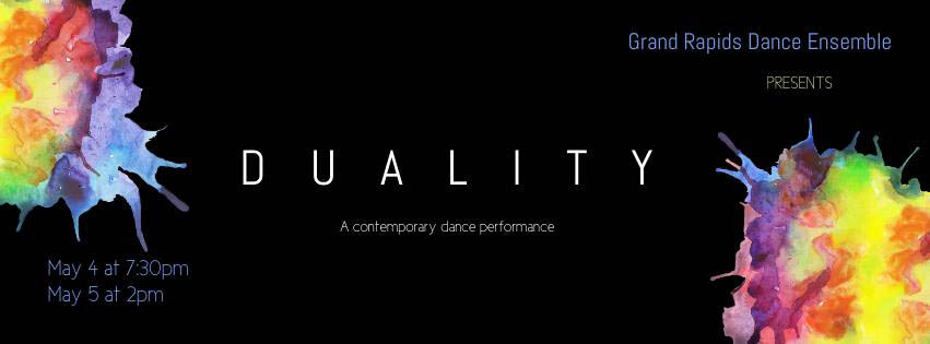 Explore contemporary dance art at Grand Rapids Dance Ensemble's 'Duality' this weekend